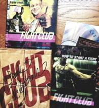 FIGHT CLUB Autographed DVD 2 Disc Set, complete - $34.95