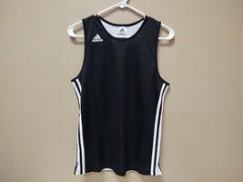 Adidas New Black/White Reversable Basketball Jersey Youth Large 215JB AY1130 - $14.25