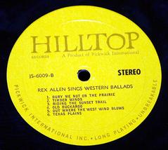 Rex allen sings western ballads thumb200