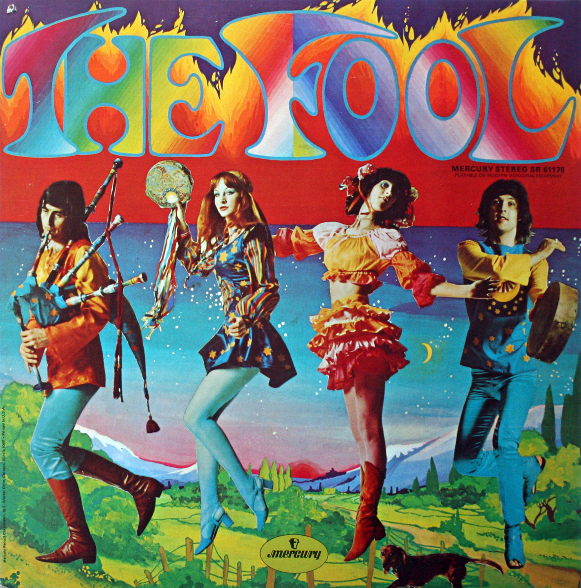The Fool 1969 LP Psych Folk Mega-Rare!
