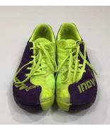 Inov-8 F-Lite 235 Purple/Neon Yellow Training Run Gym Shoes US Size M-8/... - $30.59