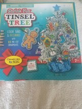 Shrink Fun Tinsel Tree rare Vintage looking upc 092633311011 - $77.30