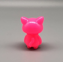 Max Toy Bright Pink Unpainted Mini Cat Girl image 2
