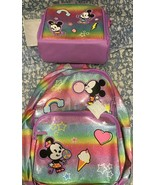 Disney Mickey and Minnie School Backpack, Lunch tote, Authentic  New wit... - $60.04