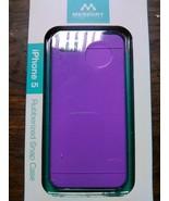 iPhone 5 Merkury Chroma Rubberized Snap Case - $10.00