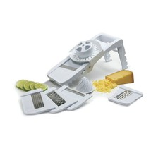 New Mandoline Slicer Grater with Guard With 5 Different Blades - $19.55