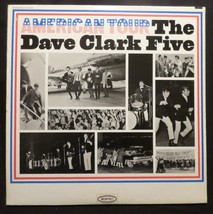 Dave Clark Five . American Tour . 1964 Epic Records LP Who Does He Think... - $4.94