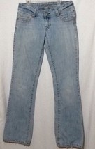 womens sz 6 long Stretch american eagle Jeans ae Artist - $32.90