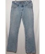 womens sz 6 long Stretch american eagle Jeans ae Artist - $32.90