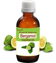 Bergamot Oil Pure & Natural Essential Oil-50ml Citrus bergamia by Bangota  - $21.42