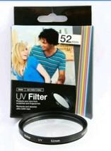 Vivitar UV Haze Filter 52 mm Filter & Lens Protector fits Canon, Nikon, ... - $7.61