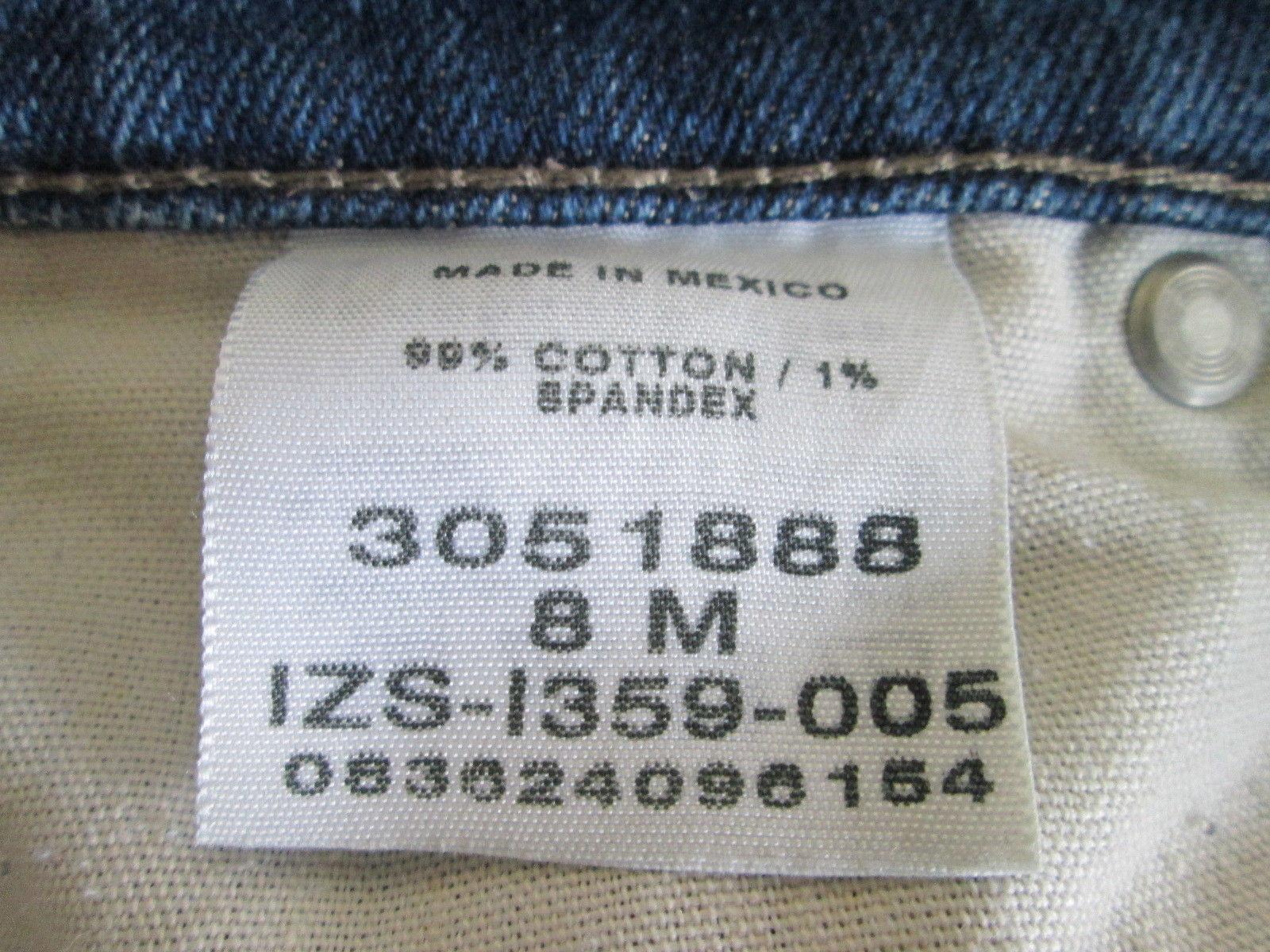 Women's Size 8 denim blue jeans by Lee  MACS022