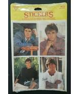 1984 Vintage Hallmark Ambassador Heartthrob Sticker Kip Chad Randy & Joh... - £21.59 GBP