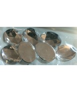 Westrim Crafts 18 X 13mm Crystal Acrylic Oval Jewels- 7 Pcs #7401 - $0.99