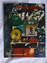 Vtg 1981 Sunday Safari A Day at the Zoo Counted Cross Stitch Design Patt... - $12.65