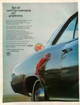 1968 Chevrolet OK Used Cars Print Ad Not All Customers Gentleman Woman R... - $10.70