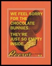 2008 Reese's Peanut Butter Eggs Framed 11x14 ORIGINAL Advertisement - $32.36