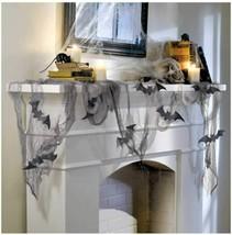 "Glitter Bat & Gauze Kit | Halloween Decoration, 12.75"" x 12"" - $12.82"