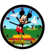 Mickey Mouse! Exclusive 8in. Unique Homemade Wall Clock, Battery Included - $23.97