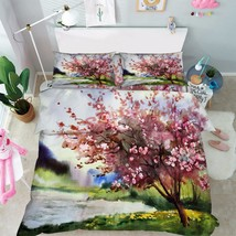 3D Tree Picture Bed Pillowcases Quilt Duvet Cover Set Single Queen King Size AU - $90.04+