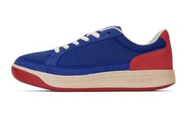 Lacoste ARDEUR Trainer Sneaker Blue Red Beige 1951 Collection Size 11 NEW - $69.18