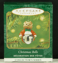 Hallmark Ornament CHRISTMAS BELLS Mouse in Tails Tuxedo #7 New in Box 2001 - $6.95