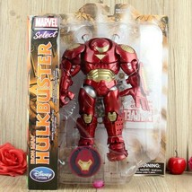 "DISNEY Marvel Diamond Select Iron Man HULKBUSTER 8"" Action Figure AVENGE... - $49.99"