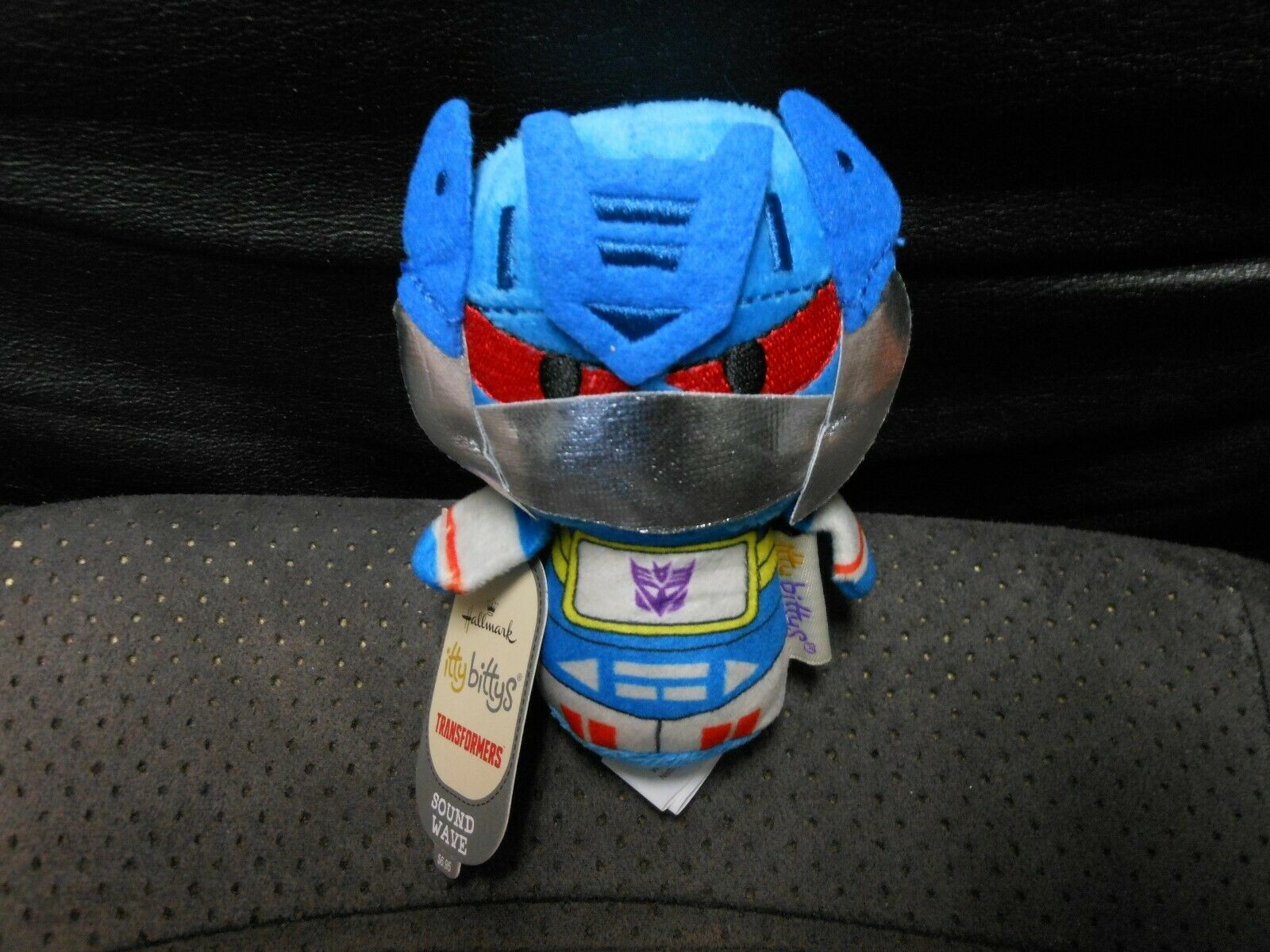 "Primary image for Hallmark Itty Bitty's ""Sound Wave - Transformers"" 2016 NEW Plush"