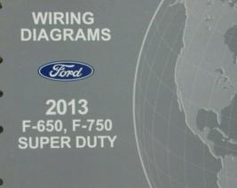 2013 Ford F650 F-650 F-750 Elektrisch Wiring Diagrams Diagram Manuell Ew... - $18.58