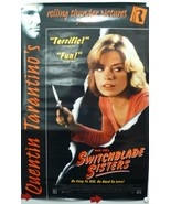 SWITCHBLADE SISTERS Laser-disc Movie Poster made in 1996 Robbie Lee, Kit... - $15.14