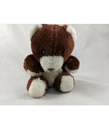"Swibco Bear Plush 6"" Dark Brown Stuffed Animal toy - $7.15"