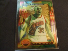 1993-94 Topps Finest  #77 Clarence Weatherspoon -Philadelphia 76ers- - $3.12