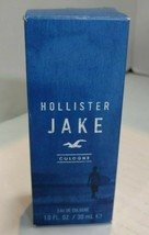 Hollister Jake Cologne Fresh and Aquatic 1.7 oz Brand New - $33.01