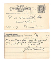 UX5 1876 Philadelphia PA Fancy Cork Cancel Wedges Lippincott Co Water Ap... - $4.99