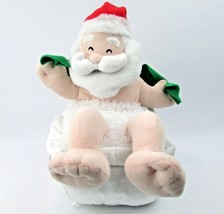 Splish Splash Greetings Musical Animated Plush Santa Claus - $22.76