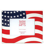 Patriotic Stars and Stripes Picture Frame - $15.95