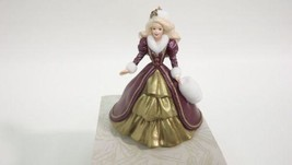 Collectors Series Holiday Victorian Barbie Christmas Ornament Handcrafte... - $11.97