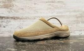 Merrell Encore Breeze 2 Shoes Sz 9.5 B Used Deep Tan Suede J098382 Slip On - $14.84