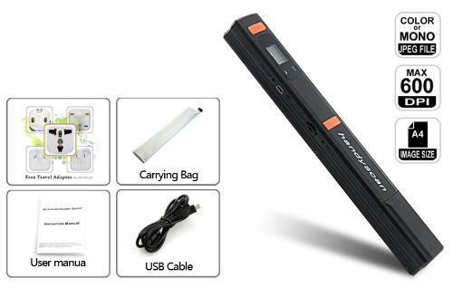 NEW HandyScan Portable Scanner Handheld Cordless