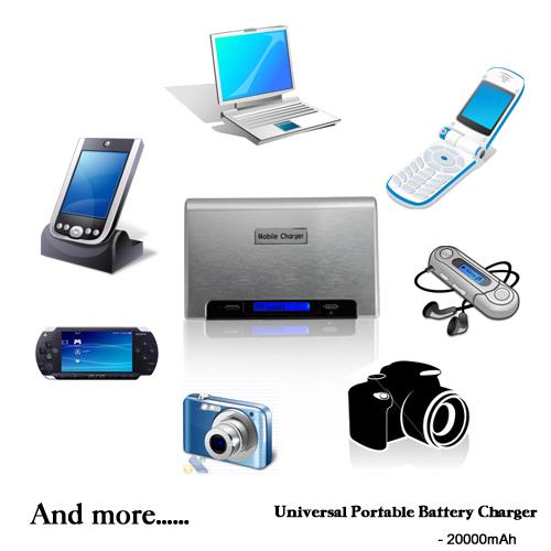 20000mAh Universal Portable Battery Charger FREE Shipping