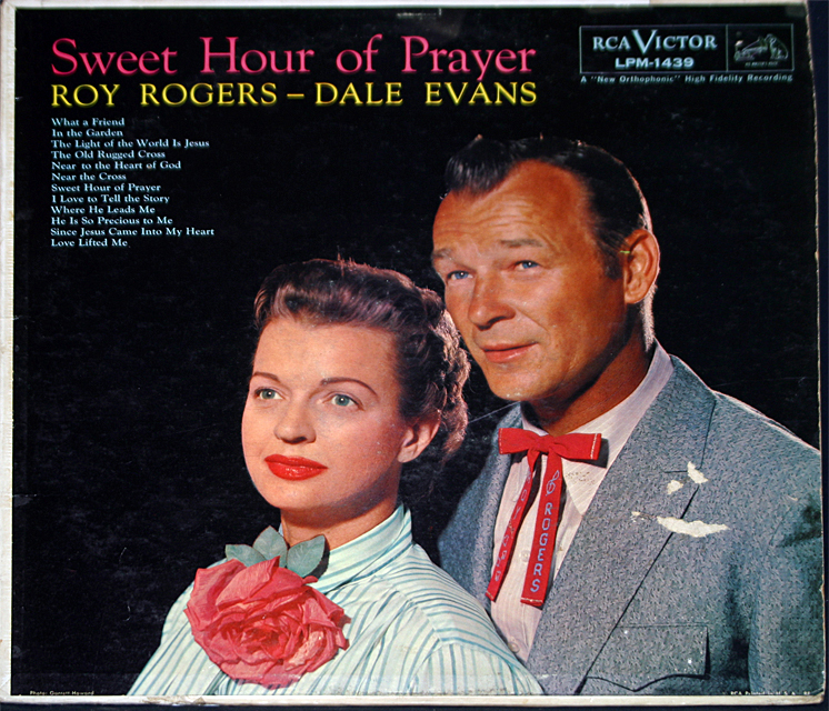Roy rogers  sweet hour of prayer cover