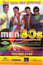 PHILIPPINE Men of the 80's In Concert - Heredia, Lauchengco Las Vegas Pr... - $2.95