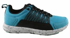 Supra Owen Turquoise Black Suede Running Cross-trainer Skateboarding Shoes NIB image 2
