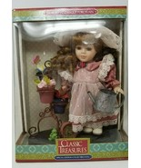 Porcelain Doll Garden Growing Time Classic Treasures - $6.92
