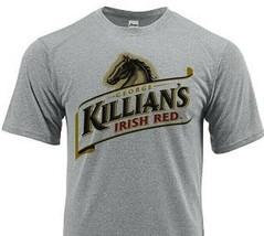 Killians Irish Red Dri Fit graphic beer T-shirt moisture wicking sun shirt image 1