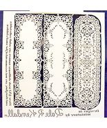 DOLLHOUSE Paper Lace Table Runners jk300 Jeannetta Kendall laser cut Min... - $7.10