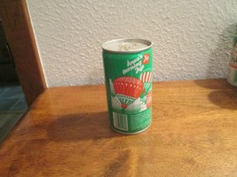 Iowa IA turning 7up vintage pop soda metal can Hot Air Ballooning hawkey... - $10.99