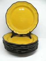 "Mikasa Italian Terrace Lemon Grove 11"" Dinner Plates Set Of 7 Plates  Re... - $77.41"