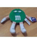"Vintage 7"" M&M Talking Plush Collectible - Green - $7.99"