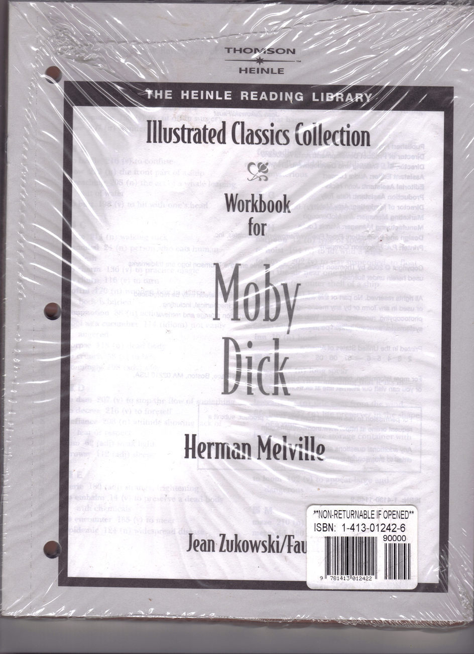 Moby dick workbook